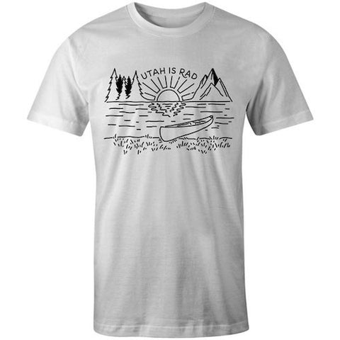 New Lake Tee - Black print