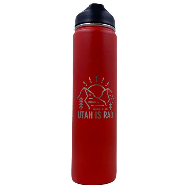 Utah is Rad 24oz Water Bottles
