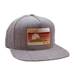 Retro Patch Heather Classic Hat