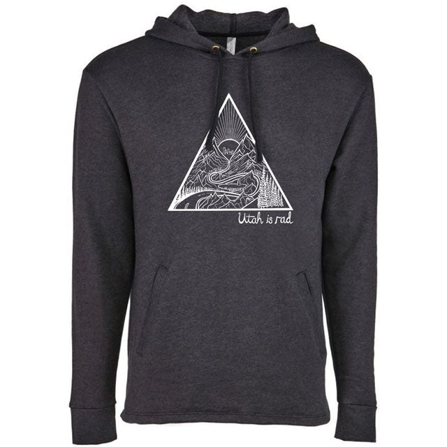 Utah Triangle Après Hooded Pullover