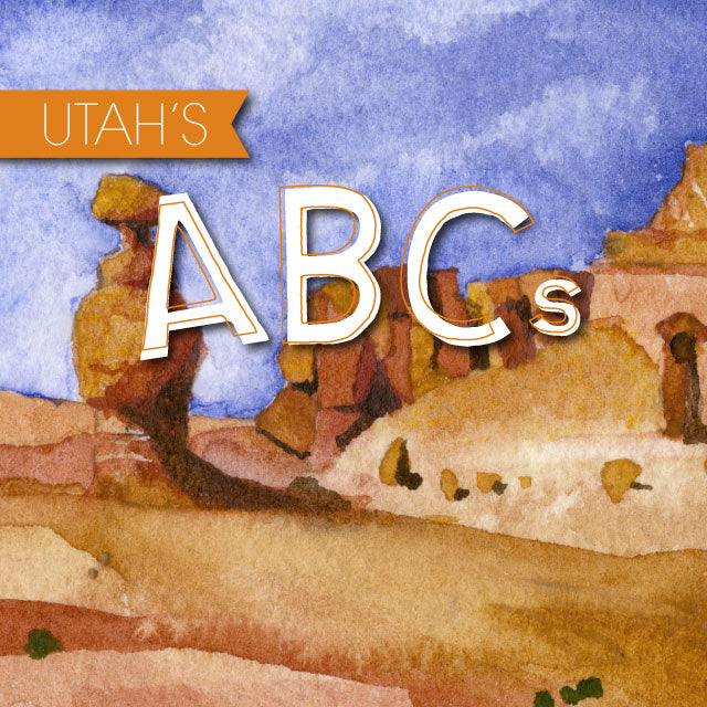 Utah ABC's Children's Book