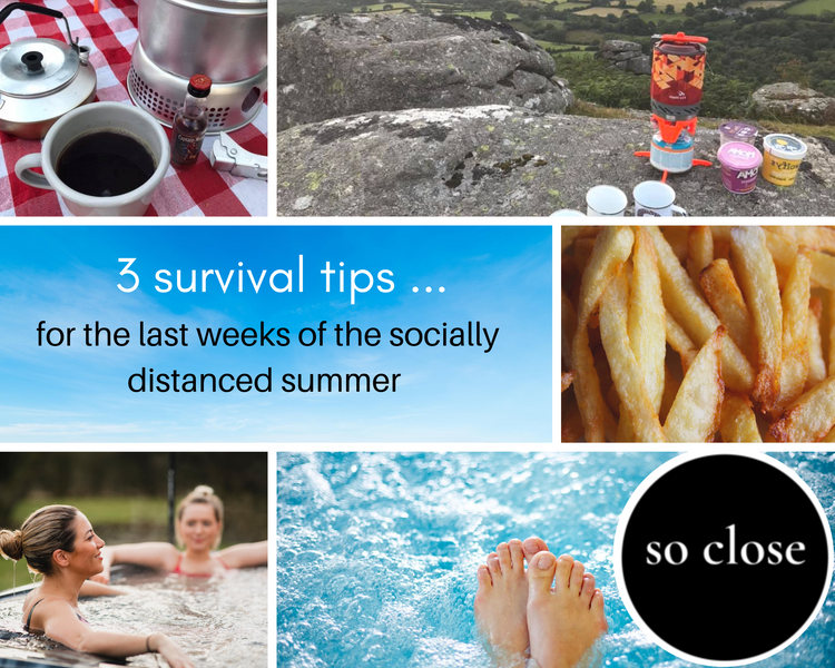 Three ways to help you survive the rest of the 2020 Staycation summer holidays