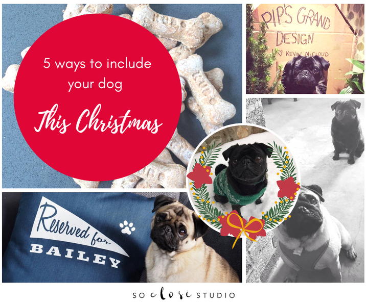 5 ways to include your dog this Christmas