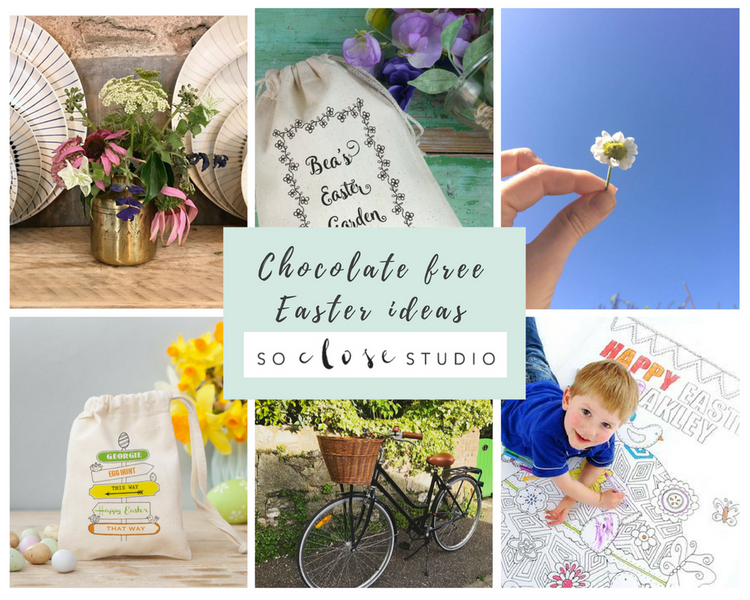 Chocolate free Easter ideas