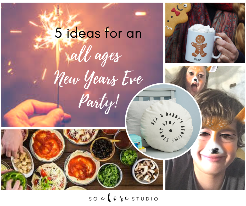 5 ideas for an all ages New Years Eve Party!