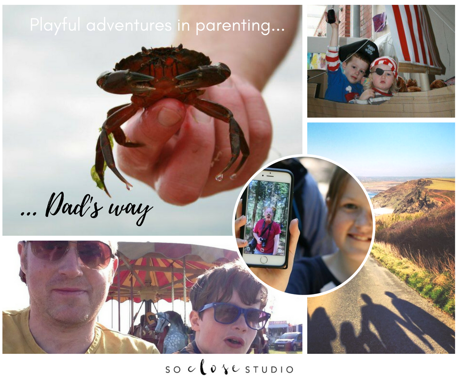 Playful adventures in parenting … Dad's way