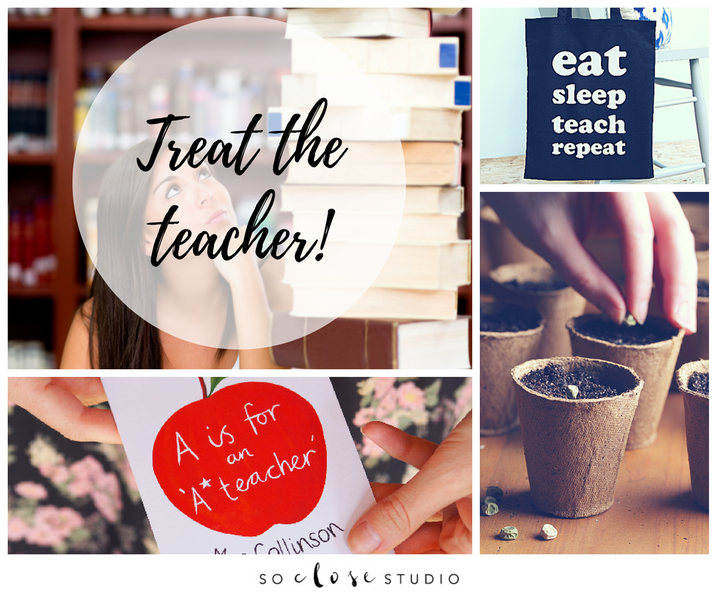 Treat the teacher! How to choose the perfect end of term thank you