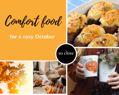 comfort foods for a cosy Autumn