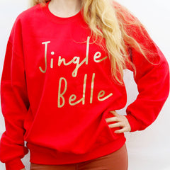 jingle belle christmas jumper