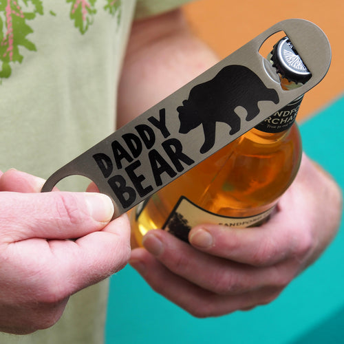 Daddy Bear Bottle Opener