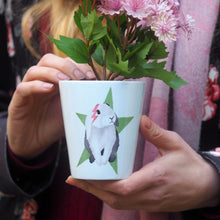 Load image into Gallery viewer, bunny plant pot gift for easter