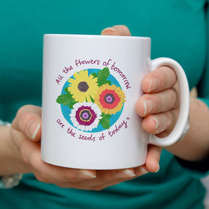 Flowers of tomorrow Personalised Mug