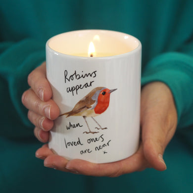 Robin Scented Soy Candle