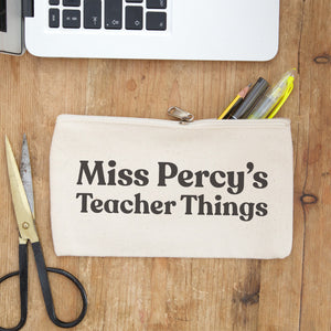 teacher things pencil case