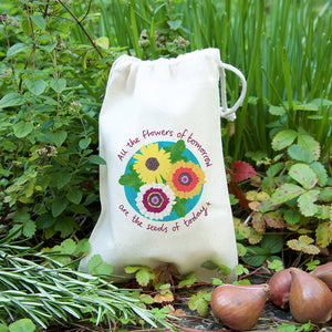 Flowers of tomorrow gift bag with seeds