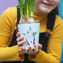 Load image into Gallery viewer, Bunny Plant Pot Personalised