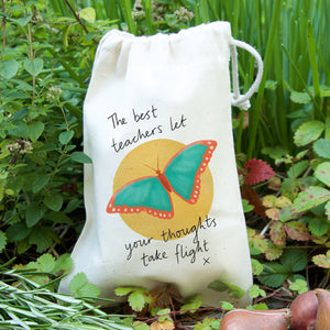 Butterfly Teacher Gift Bag