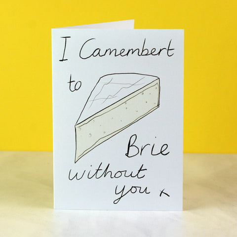 Cheesy Valentine Or Anniversary Card