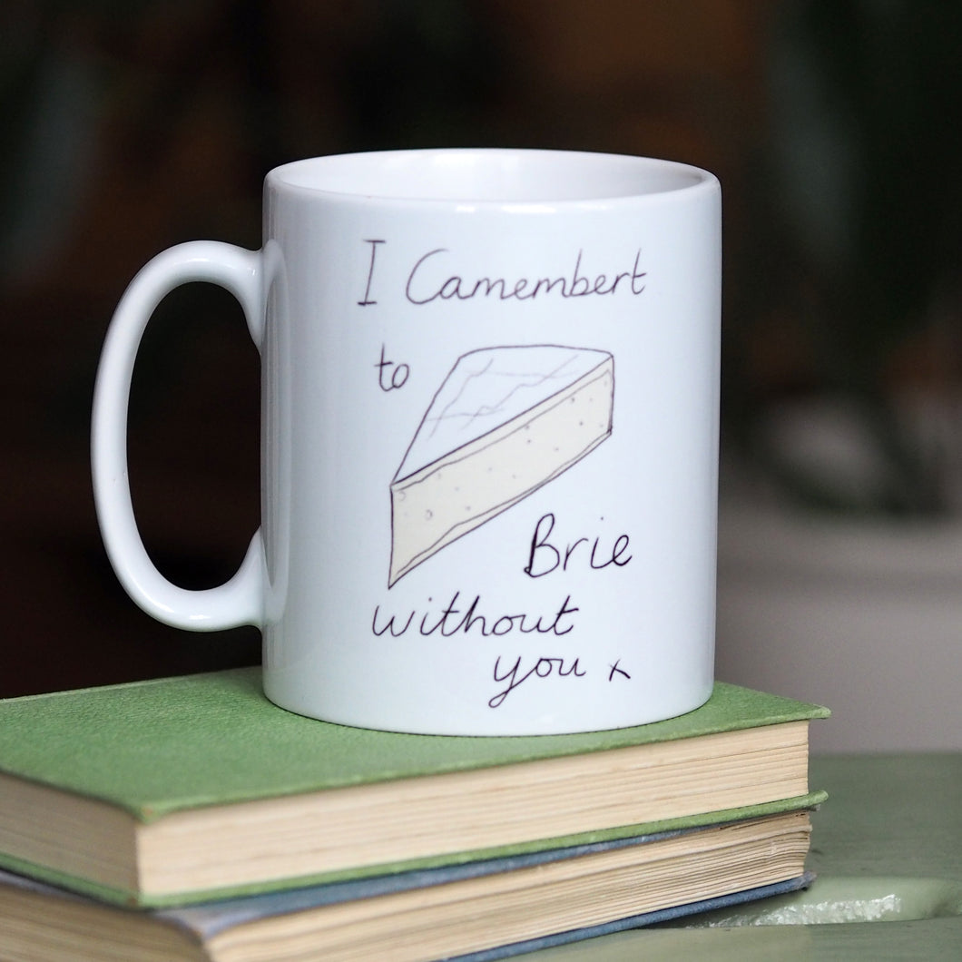 Cheesy mug gift for Valentine's Day