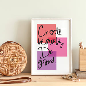 prints of positivity