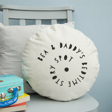 Load image into Gallery viewer, Bedtime story spot cushion - round or square