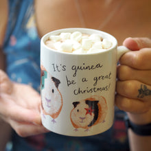 Load image into Gallery viewer, Christmas Mug & hot chocolate set - choice of illustrated animals