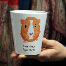 Load image into Gallery viewer, Guinea Pig personalised plant pot