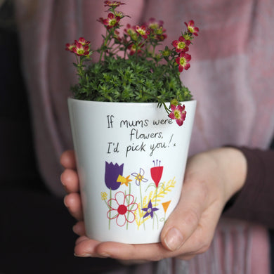 flower pot gift for mum