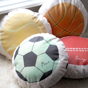 Sports Balls Cushions Personalised