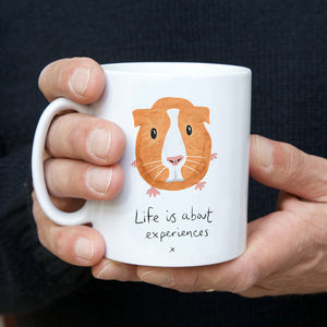 Guinea Pig Mug - choice of 2 Quotes