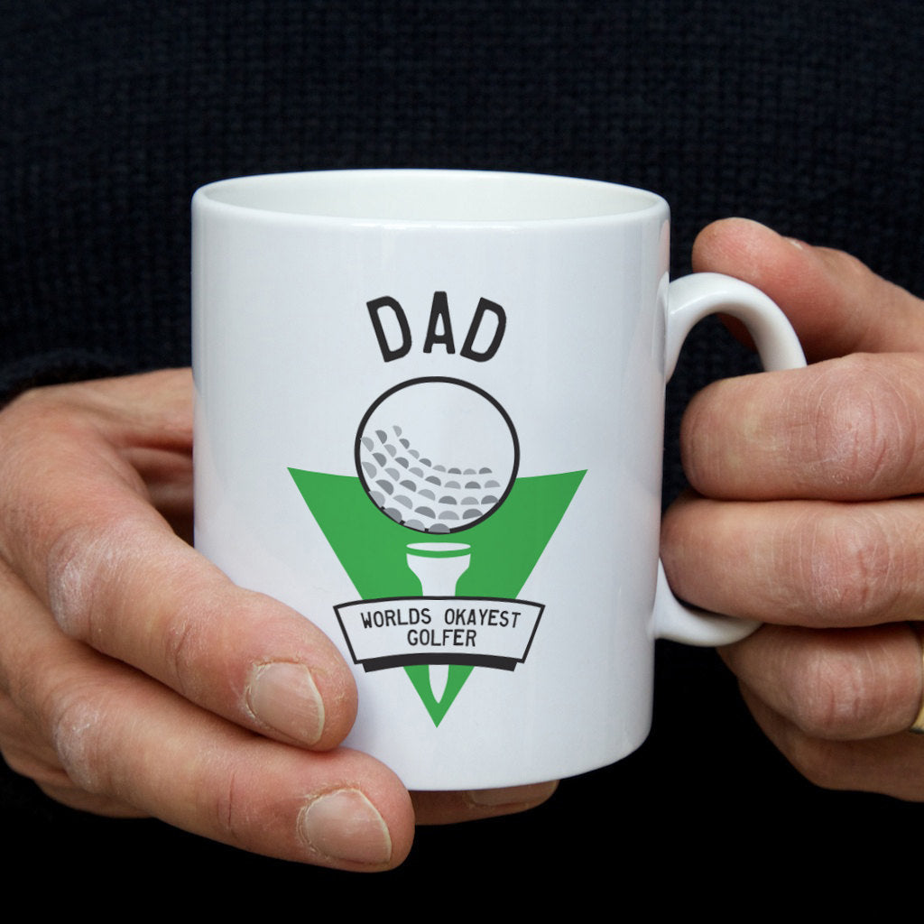 World's Okayest Golfer mug