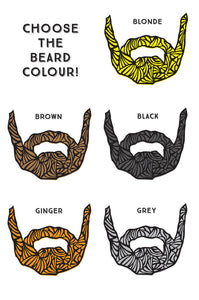beard colours