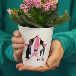 Penguins Plant Pot