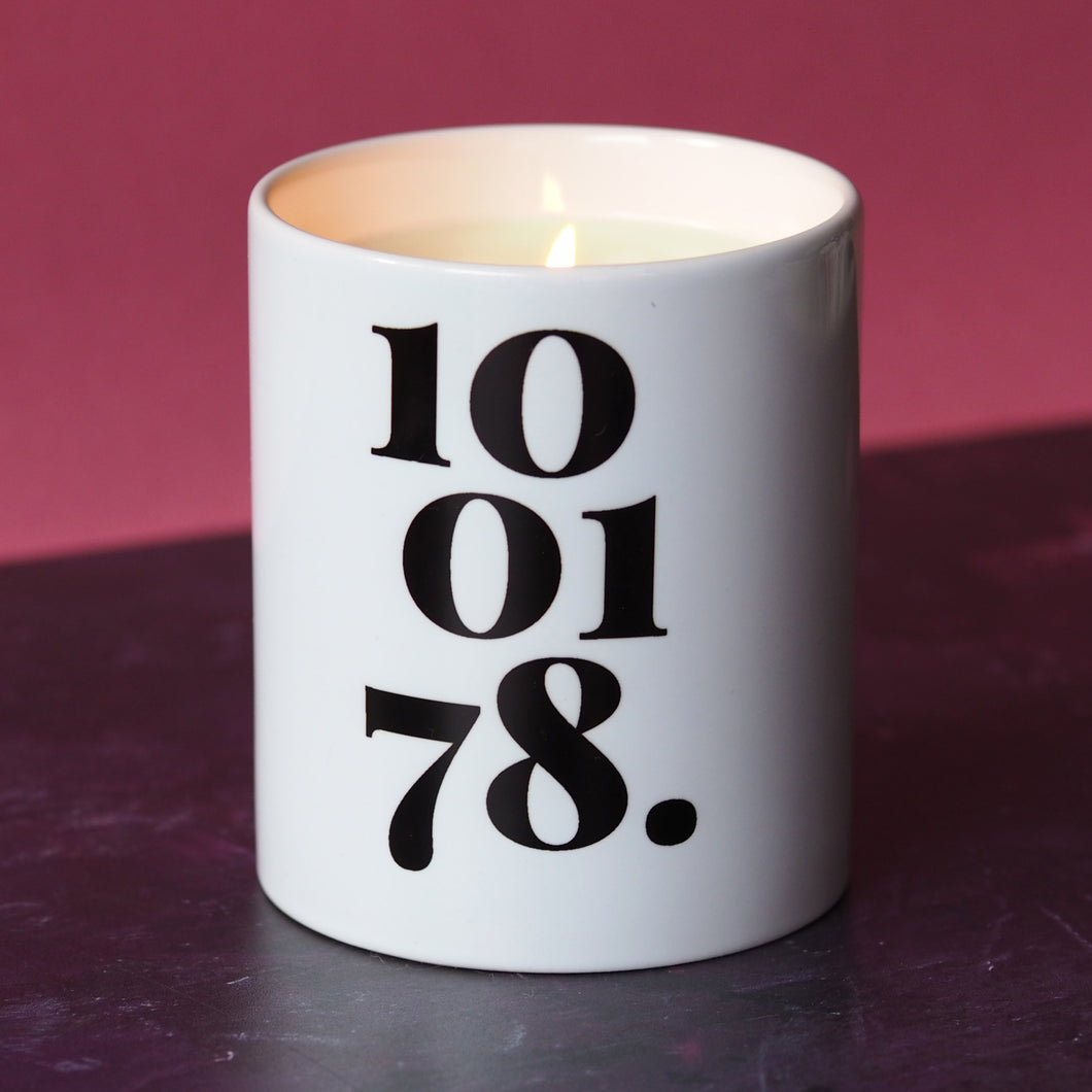 Candle Personalised Date