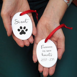 Pet Memorial Personalised Decoration