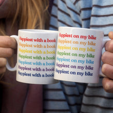 Load image into Gallery viewer, Rainbow Slogan Personalised Ceramic Mug