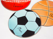 Load image into Gallery viewer, Personalised Sports Balls Coaster