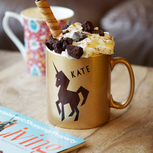 Personalised mug & hot chocolate set - the perfect gift for Christmas eve!