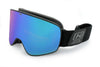 Southpaw Magnetic Blue Zaio Mirror - Optic Nerve Polarized Sunglasses