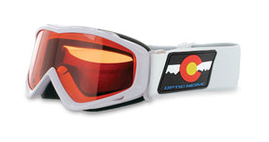 Kids Snowhawk White Colorado - Optic Nerve Polarized Sunglasses