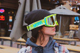 Alien Invader with 80s Fanny Pack - Optic Nerve Polarized Sunglasses