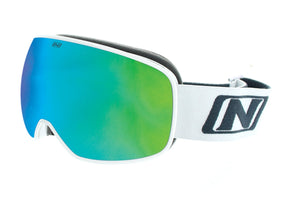 San Juan Small Shiny White - Optic Nerve Polarized Sunglasses