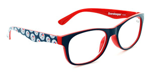 Blue Jays Scorekeeper Reading Glasses