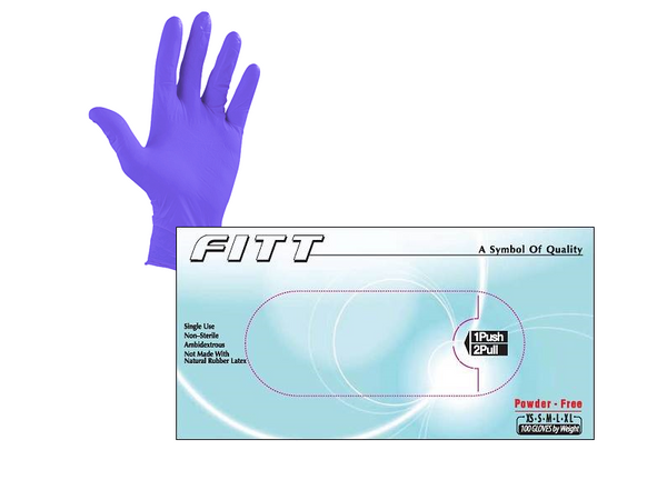 General Purpose Powder Free Nitrile Gloves - Full Pallet, $33.90/Case