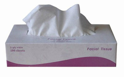 Facial Tissue White Virgin