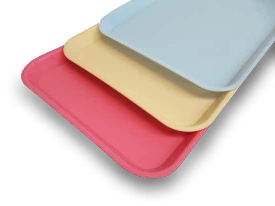 Plastic Serving Tray - Flat