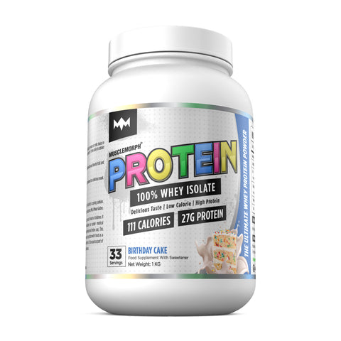 100% PURE WHEY PROTEIN ISOLATE
