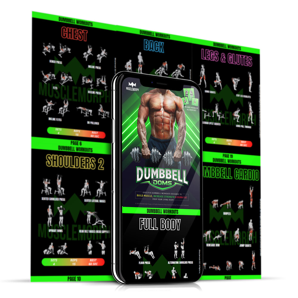 DUMBBELL DOMS | HOME DUMBBELL WORKOUTS [INSTANT DOWNLOAD]