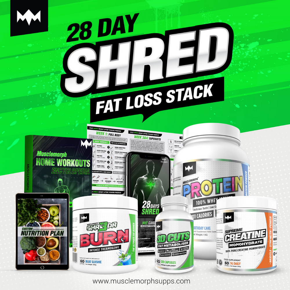 28 DAY SHRED | ULTIMATE FAT LOSS STACK
