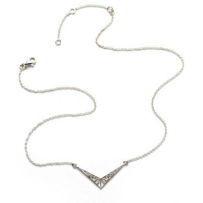 Chevron Necklace from the Southern Gates Jewelry Collection